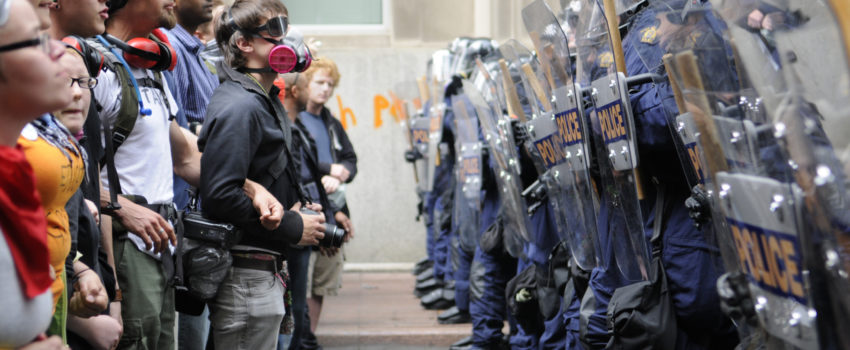 When Human Barricades in the Guise of Peaceful Protest Result in Injuries, Who is Liable?